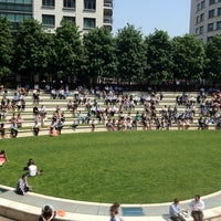 Photo taken at Sheldon Square by Aaron W. on 5/24/2012