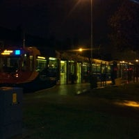Photo taken at Malin Bridge Tram Stop by Mike G. on 10/10/2011