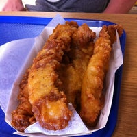 Photo taken at Harbor Fish and Chips by Chanda B. on 3/1/2012