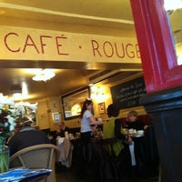 Photo taken at Café Rouge by Alastair D. on 2/19/2011