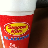 Photo taken at Smoothie King by Cassy on 7/22/2012
