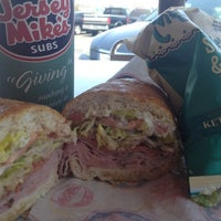 Photo taken at Jersey Mike's Subs by Christina I. on 6/7/2012
