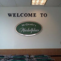 Photo taken at McQuade's Marketplace by Kayla M. on 8/21/2011