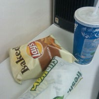 Photo taken at SUBWAY by Mary C. on 5/24/2012