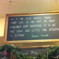 Photo taken at The Healthy Butcher by dominique b. on 1/3/2012