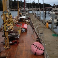 Photo taken at Harbor Island Marina by Mitch S. on 8/19/2012