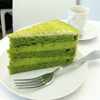 Photo taken at Lady M Cake Boutique by foodforfel on 4/5/2012