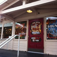 Photo taken at Lucille's Smokehouse Bar-B-Que by David B. on 1/22/2011