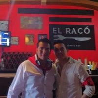 Photo taken at El Raco Restaurant Bar by Jorge S. on 10/1/2011