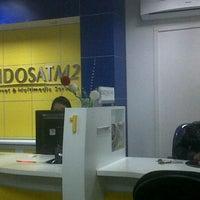 Photo taken at Galeri Indosat by falasik n. on 10/31/2011