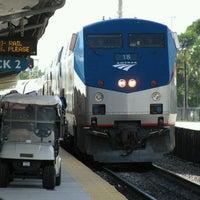 Photo taken at Tri-Rail - Boca Raton Station by TJ C. on 4/17/2011