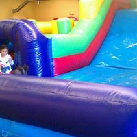 Photo taken at Leapin' Lizards Fun & Party Center by Peter H. on 1/6/2012