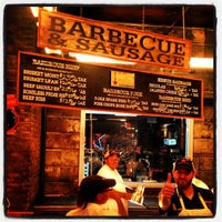 Photo taken at Hill Country Barbecue Market by Nathanael E. on 9/5/2012