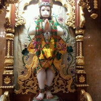 Photo taken at ISCKON Temple by avadhesh b. on 12/10/2011