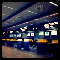 Photo taken at Il Caravaggio International Airport (BGY) by Giuseppe M. on 8/18/2011