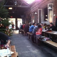 Photo taken at Radegast Hall & Biergarten by Matt K. on 12/3/2011