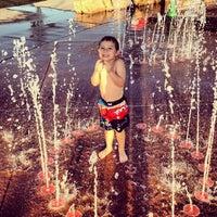 Photo taken at Splash Pad by Amanda W. on 7/26/2012