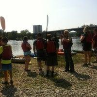 Photo taken at River Runner by Lauren F. on 7/4/2012