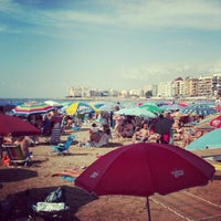 Photo taken at Playa El Salaret / Los Locos by chema on 7/22/2012
