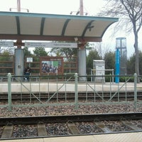 Photo taken at Bush Turnpike Station (DART Rail) by Lauren Y. on 2/3/2012