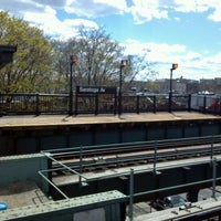 Photo taken at MTA Subway - Saratoga Ave (3) by Doug H. on 4/2/2012