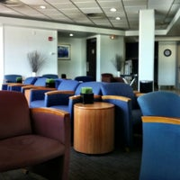 Photo taken at Delta Sky Club by Rebecca M. on 8/10/2012
