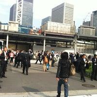 Photo taken at JR東京駅 八重洲南口 by Harumi K. on 5/20/2012