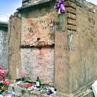 Photo taken at Tomb Of Marie Laveau by Botond S. on 5/15/2012