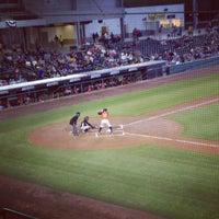 Photo taken at Bowling Green Ballpark by Chris H. on 4/8/2012