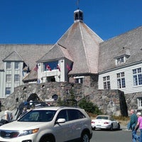Photo taken at Timberline Lodge by Tracie A. on 9/13/2012