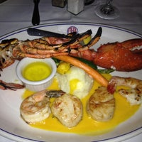 Photo taken at A&B Lobster House Restaurant by Dennis P. on 9/11/2012
