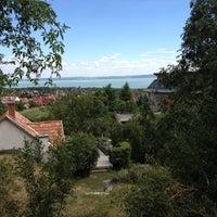 Photo taken at Csopak by Tibor on 7/18/2012