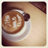 Photo taken at Pourquoi Pas Espresso Bar by Audrey M. on 7/24/2012