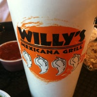 Photo taken at Willy's Mexicana Grill by little ole j. on 4/9/2012