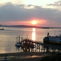 Photo taken at The Peaks Island House by Nancy D. on 8/4/2012