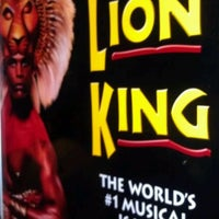 Photo taken at THE LION KING in Las Vegas by Veronica W. on 12/30/2011