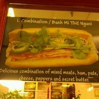 Photo taken at Nhu Lan Sandwich by Vicki Y. on 12/9/2011