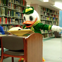 Photo taken at Knight Library by Oregon Duck on 7/25/2011