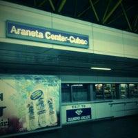 Photo taken at LRT 2 (Araneta Center-Cubao Station) by James Christopher V. on 8/15/2011