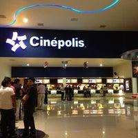 Photo taken at Cinépolis by Jonathan J. on 7/27/2012