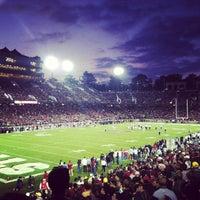 Photo taken at Stanford Stadium by Matt W. on 11/13/2011