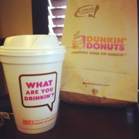 Photo taken at Dunkin Donuts by Kimberly L. on 1/10/2012