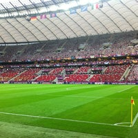 Photo taken at PGE Narodowy by Radek G. on 6/28/2012