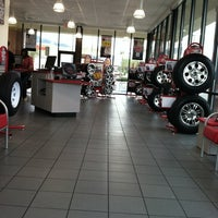 Photo taken at America's Tire Store by Melissa L. on 2/7/2012