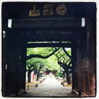 Photo taken at 明顕山 祐天寺 by gentleman l. on 8/11/2012