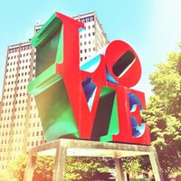 Photo taken at JFK Plaza / Love Park by Nick B. on 5/29/2012