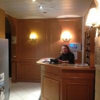Photo taken at Hotel L'Amiral** by Natalya R. on 3/6/2012