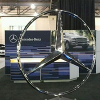 Photo taken at Mercedes-Benz At Philly Auto Show by Bill D. on 2/1/2012