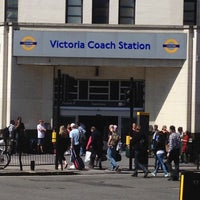 Photo taken at Victoria Coach Station by Ryan G. on 6/26/2012