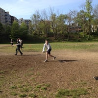 Photo taken at DC Social Touch Rugby Pitch by DC Social Sports C. on 4/14/2012